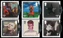 Englanti - David Bowie - Postituore sarja (6)
