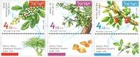 以色列新邮 2017 芳香植物 套票3枚 收藏真品