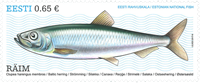 Estonia - Baltic Herring - Mint stamp