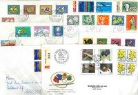 Suisse - Lot de doublons lettres