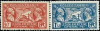 Frankrig 1927 - YT 244-45 - Postfrisk