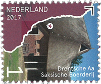 Netherlands - Beautiful Netherlands - Drentsche - Mint stamp