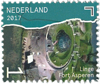 Netherlands - Beautiful Netherlands - Linge - Mint stamp