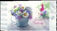 Finland - Sommerblomster - Postfrisk frimærke