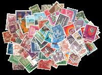 Schweiz - 100 forskellige frimærker