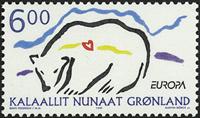Groenland - 1999. Europa - 6,00 kr. - Multicolore