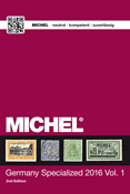 Michel Germany Special catalogue I 2016 - English