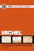 Michel catalogue - Germany Postal Stationery - 2018