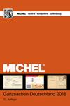 Michel - Alemania esteros postales 2018