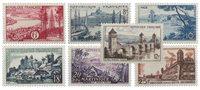 France - YT 1036-42 - Mint