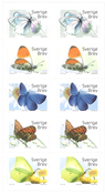 Sverige - Sommerfugle - Postfrisk hæfte