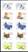 Suède - Papillons - Carnet neuf