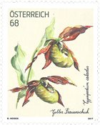 Autriche - Sabot jaune de Vénus - Timbre neuf
