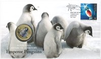 Australian Antarctic - Marine - PNC / Coin Cover
