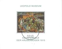 Østrig - Leopold Museum - Stemplet miniark