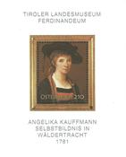 Østrig - Angelika Kauffmann - Postfrisk miniark