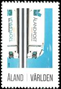 Åland - Véhicule de la poste - Timbre neuf