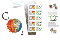 Belgium - Climate changes - Mint sheetlet