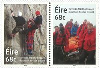Ireland - Mountain rescue - Mint set 2v