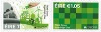 Irland - Europa Think Green - Postfrisk sæt 2v