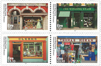Ireland - Irish shop fronts - Mint set 4v