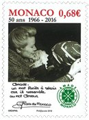 Monaco - Amade Monaco, cinquantenaire - Timbre neuf