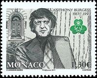 Monaco - A.Burgess - Postfrisk frimærke