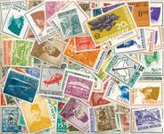 Indonesien - frimærkepakke 100 forskellige