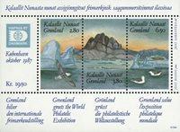 Grønland - 1987. Frimærkeudstillingen Hafnia 87. -  Miniark