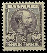 Danmark  Bogtryk AFA 50 *