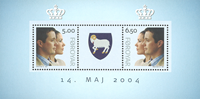 Færøerne - Kongeligt bryllup - Postfrisk miniark