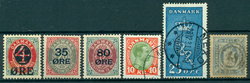 Danmark - Samling - 1854-1993