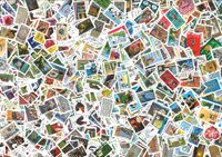 France - 1000 different commemorative stamps