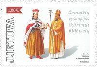 Litauen - Fællesudgave med Vatikanet - Postfrisk