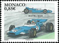 Monaco - Matra MS 80 - Postfrisk frimærke