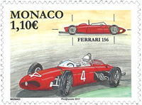 Monaco - Ferrari 156 - Timbre neuf