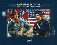 Îles Marshall - Fin de la guerre civile - Bloc-feuillet neuf
