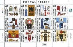 Îles Marshall - Boîte postales du monde entier - Bloc-feuillet neuf