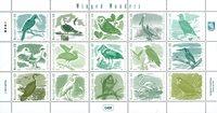 Îles Marshall - Oiseaux - Série neuve 15v