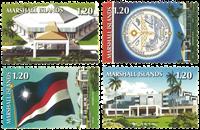 Îles Marshall - Icônes nationales - Série neuve 4v