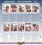 Marshall Øerne - Afslutningen af Anden Verdenskrig - Postfrisk sæt 10v