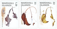 Marshall Islands - Spotted eagle ray - Mint set 3v