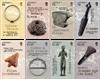 Jersey - Arkæologiske fund - Postfrisk sæt 8v