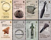Jersey - Découvertes archéologiques - Série neuve 8v