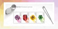 Australia - Gemstones - Mint souvenir sheet