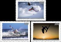 Liechtenstein - Udendørs sportsgrene - Postfrisk sæt 3v