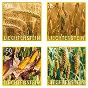 Liechtenstein - Plantes - Série neuve 4v