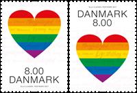 Denmark - Pride - Mint set 2v