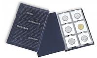 Muntenalbum voor kartonnen munthouders in zakformaat