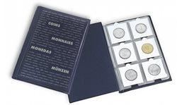 Album de poche avec 10 Feuilles Numismatiques pour  chacune 6 cadres cartonn